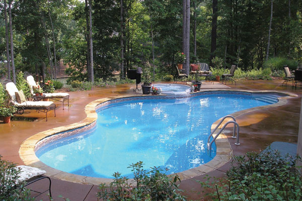 our company - leaders in custom pools